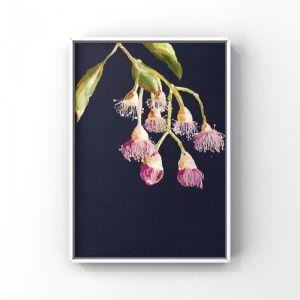 Grotti Flowering Gums | Unframed Art Print by Grotti Lotti