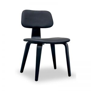 GROVER  Dining Chair - Black Ash Veneer