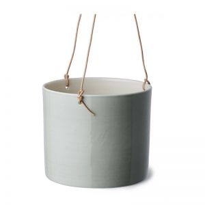 Grow | Jade Green Hanging Flower Pot | Various Sizes | Anne Black