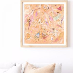 Gums | Canvas or Paper Fine Art Print  | Amy O'Donnell