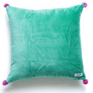 Gypsy / Fern Pom Pom Cushion