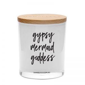 Gypsy, Mermaid, Goddess   XL Candle   by Damselfly