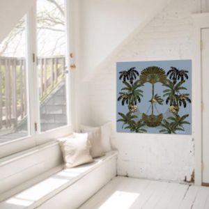 Gypsy Palm in Blue | Canvas Print | Libby Watkins