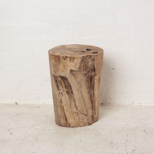 Hadi Natural Tree Stump Stool
