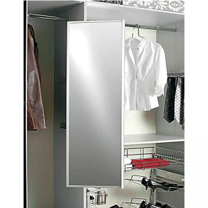 Hafele  Wardrobe Pivot Pull-Out Mirror