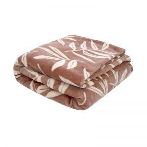 Hakea Ultraplush Blanket Woodrose | Singe Bed