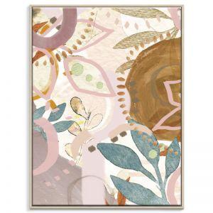 Halo Garden | Framed Canvas Print | SALE