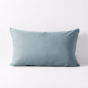 Halo Organic Cotton Standard Pillowcase | Eucalypt | Aura Home