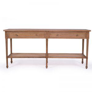 Hamilton Wide Console Table | Weathered Oak | 185cm