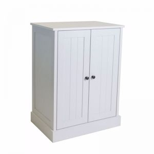 Hamptons 2 Door Low Line Multipurpose Cupboard