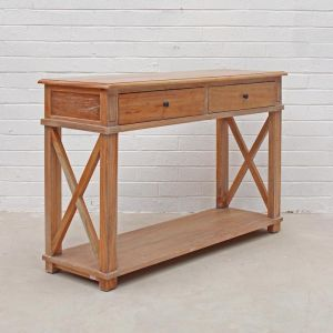 Hamptons Console | Weathered Oak