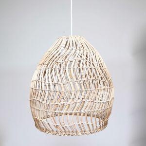 Hamptons Wicker Pendant Light (42cm)