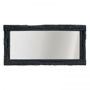 Hanale Mirror | Charred | by Uniqwa Furniture