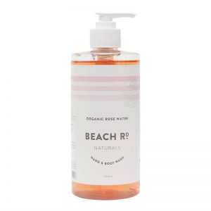 Hand and Body Wash | Organic Rose Water | 500ml