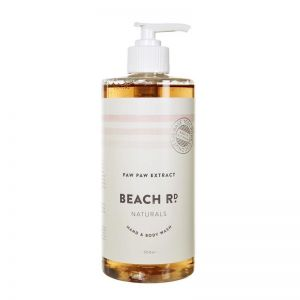 Hand & Body Wash | Paw Paw Extract | 500ml | by Beach Road Naturals