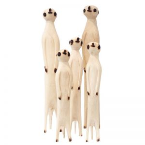 Hand Carved Meerkat | by Raw Decor | PRE ORDER