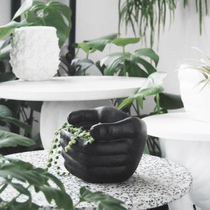 Hand Planter | Black