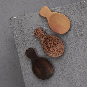 Handcarved 8cm Short Scoop Spoon