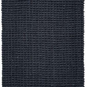 Handwoven Chunky Looped Weave Charcoal Jute Mat | Entrance Mat | Non-Slip