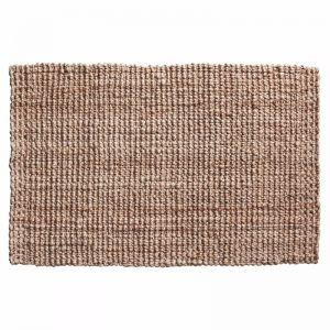Handwoven Chunky Looped Weave Jute Mat | Entrance Mat | Non-Slip