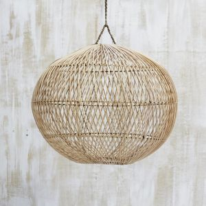 Handwoven Rattan Ball Light Shade l Pre Order