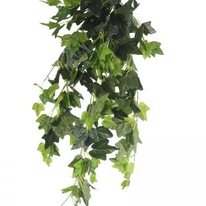 Hanging Green Ivy Bush | 80cm