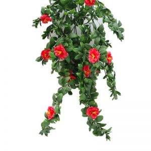 Hanging Red Rose Stem | UV Resistant | 85cm