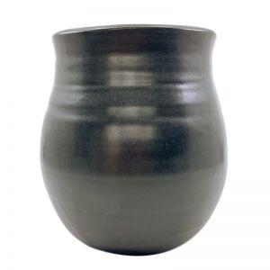 Happy Vase   Slate   by Batch Ceramics