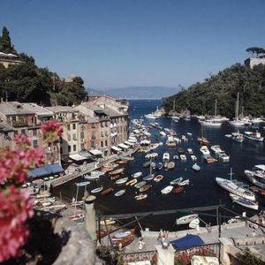 Harbour Area Portofino | Photographic Print | Slim Aarons