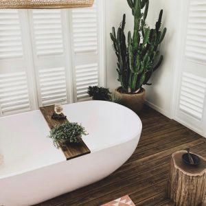 Hardwood Bath Caddy - Dark