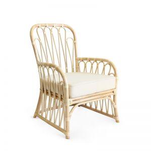 Harmony Rattan Lounge Chair    Natural   by Black Mango