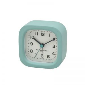 Harry Alarm Clock | 8cm | Resin | Duck Egg Blue | One Six Eight London