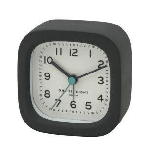 Harry Alarm Clock | 8cm | Resin | Grey| One Six Eight London
