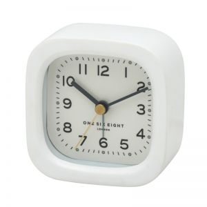 Harry Alarm Clock | 8cm | Resin | White | One Six Eight London