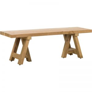 Harta 140cm Reclaimed Teak Bench | Raw | Schots