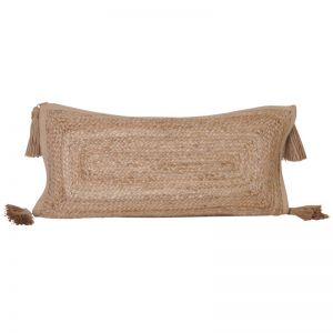 Haven Lumbar Cushion | Jute |  BY SEA TRIBE | PREORDER