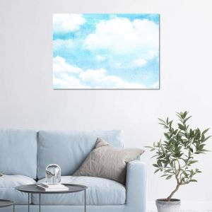 Head in the Clouds Panel/Canvas