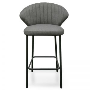 Heidi Bar Stool | 65cm | Grey