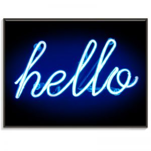 Hello | Canvas or Print by Artist Lane