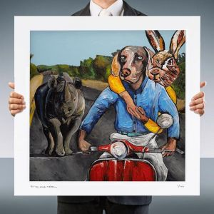 Hello You | Limited Edition Giclee Print | by Gillie and Marc