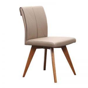 Hendriks Leather Chair | Latte | Bohemio Furniture