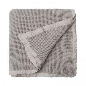 Hepburn Waffle Blanket | Oatmeal | Large