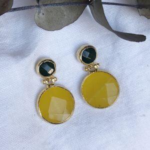 Hera Double Drop Earrings