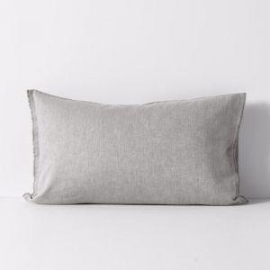 Herringbone Pillowcase | Dove