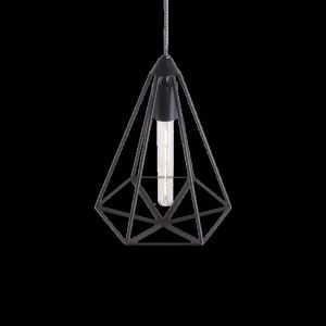 Hex | Geometric Metal Cage Pendant Light | Various Colours