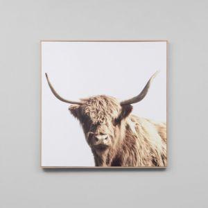 Highland Companion | Framed Canvas Print