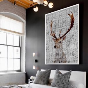 Highlands | Floating Framed Canvas Art