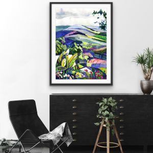 Hinterland | Wall Art or Canvas Print