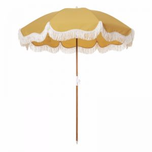 Holiday Beach Umbrella-Vintage Gold