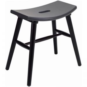 Hollis Stool In Graphite Grey